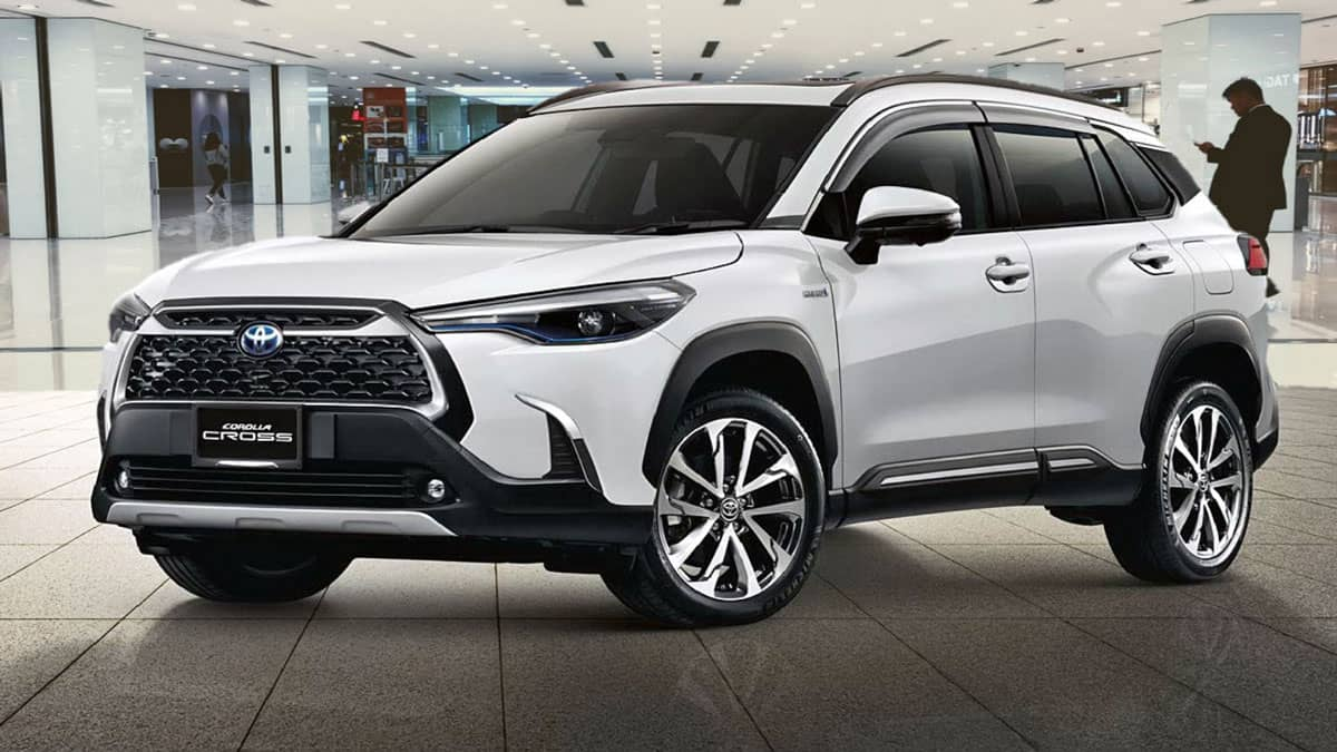 You are currently viewing TOYOTA COROLLA CROSS 2021 –  With Hybrid Option