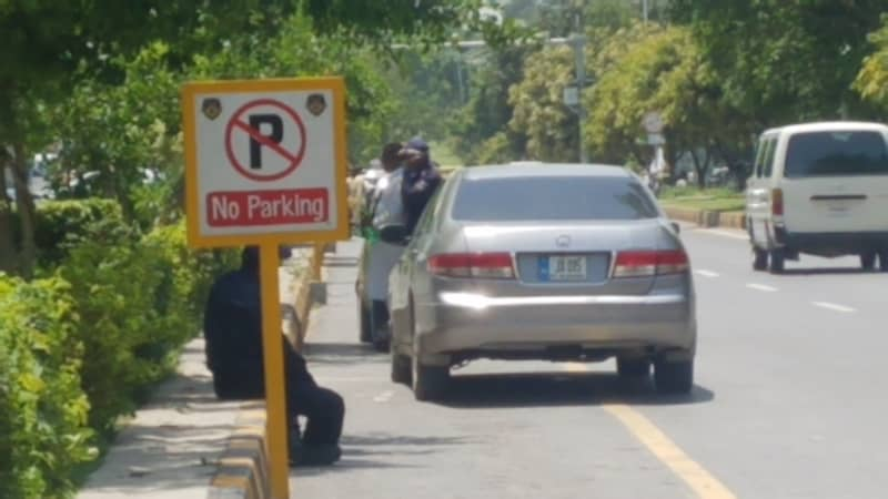 Read more about the article A No Parking Sign at a certain location means | DMV Test Guide